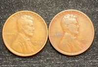1933 P & D LINCOLN WHEAT PENNIES- SHIPS FREE