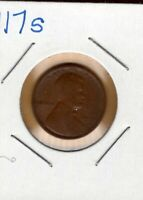 1917S  UNITED STATES - LINCOLN WHEAT CENT.