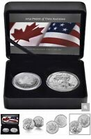 2019 RCM PRIDE OF TWO NATIONS SILVER LIMITED EDITION CANADA BOX COA