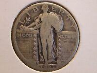 1927-D  STANDING LIBERTY QUARTER / GOOD