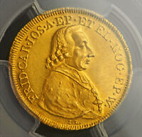 Click now to see the BUY IT NOW Price! 1795 MAINZ  ARCHBISHOPRIC  FRIEDRICH KARL JOSEPH. GOLD DUCAT COIN. PCGS MS 61