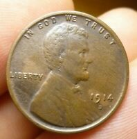 1914 D LINCOLN CENT