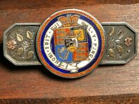 1929 S/S  ORDER OF THE GARTER PIN PART MADE FROM 1822 OR 1821 COIN