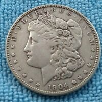 1904 VF PHILADELPHIA MORGAN SILVER DOLLAR