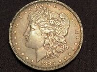 1884 90 SILVER MORGAN DOLLAR 234