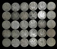LOT OF 30 CANADA 25 CENT $7.50 FACE 92.5  SILVER 1913 1919 C