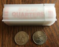 2002 D MISSISSIPPI STATE QUARTERS ROLL   UNC   BANK ROLLED