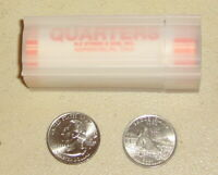 2001 P RHODE ISLAND STATE QUARTERS ROLL   UNC   BANK ROLLED