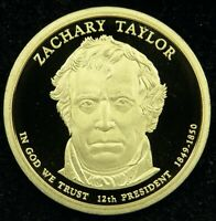 2009 S DEEP CAMEO PROOF ZACHARY TAYLOR PRESIDENTIAL DOLLAR C03