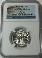 2020 W NGC MS68 WEIR W MINT QUARTER W/ V75 PRIVY EARLY RELEA