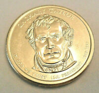 2009 P ZACHARY TAYLOR PRESIDENTIAL DOLLAR COIN  SHIPS FREE