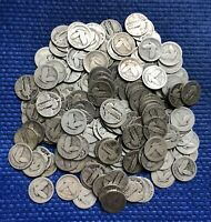 LOT OF 200 STANDING LIBERTY SILVER QUARTERS  5 ROLLS   $50 F