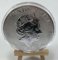 2017 10 OZ SILVER BRITISH QUEEN'S BEASTS BULLION COIN   THE LION IN CAPSULE