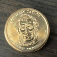 2009 P ZACHARY TAYLOR PRESIDENTIAL DOLLAR COIN BU SHIPS FREE