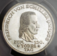 1955 GERMANY.  SILVER