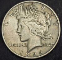 1924 UNITED STATES OF AMERICA. LARGE SILVER