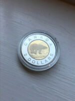 1996 PROOF CANADA $2 TWO DOLLARS TOONIE ROYAL CANADIAN MINT