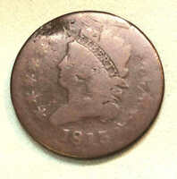 1813 LARGE CENT NICE FULL LIBERTY FULL DATE LC24
