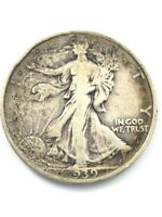 1939 WALKING LIBERTY HALF DOLLAR COIN AP1071409