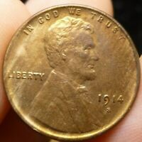 1914 S LINCOLN CENT PENNY
