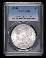 1898 O MORGAN SILVER DOLLAR COIN PCGS MINT STATE 63 94847FC
