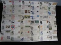 DEALER LOT US FDC COVERS OVER 500 1940'S TO 1990'S