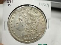 1881 O  MORGAN SILVER DOLLAR  1429