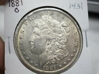 1881 O  MORGAN SILVER DOLLAR  1431