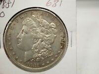 1881-O $1 MORGAN SILVER DOLLAR  681