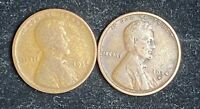 1934 P - 1934 D LINCOLN WHEAT CENTS- SHIPS FREE 1