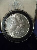 1890-S $1 MORGAN SILVER DOLLAR   7TF / R90
