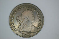 1803 BUST DOLLAR  NICE DETAILS.  FROM LOCAL AUCTION.