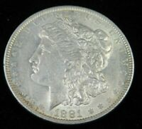 UNCIRCULATED 1881-O NEW ORLEANS MINT MORGAN DOLLAR LOT974
