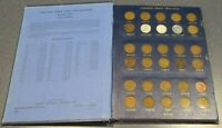 COMPLETE SET 1941-1974 PDS LINCOLN WHEAT & MEMORIAL PENNY CENT SET