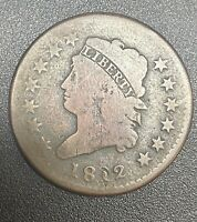 1812 LARGE CENT CLASSIC HEAD ONE CENT 1C BETTER GRADE