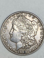 1900 $1 MORGAN SILVER DOLLAR US COIN. ESTATE FROM PRIVATE COLLECTION.