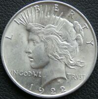 1922-P PEACE DOLLAR CIRCULATED MM449