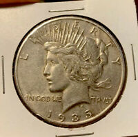 1935-S PEACE DOLLAR $1 UNCIRCULATED 90 SILVER