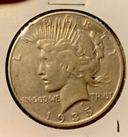 1935-S PEACE DOLLAR $1 CIRCULATED 90 SILVER