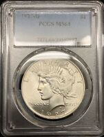 1927-D PEACE DOLLAR PCGS MINT STATE 64