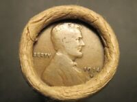 ORIGINAL D MINT ROLL 1914 D TO 1955 D LINCOLN WHEAT CENTS