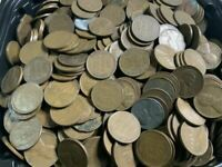 LOT OF 500 LINCOLNWHEAT CENTS /PENNIES 1940'S & 1950'SPOSSIBLE RPMS AND DDOS