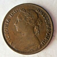 1884 GREAT BRITAIN FARTHING   BIG VALUE GREAT COIN   LOT Y16