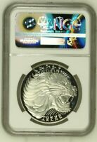 EE1974 1982 ETHIOPIA 20 BIRR PROOF SILVER PF66 ULTRA CAMEO FIFA WORLD CUP LION