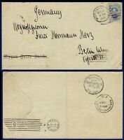 R621 HAWAII 59 COVER TO BERLIN GERMANY OCT 1893