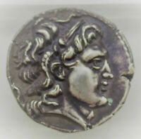 UNRESEARCHED ANCIENT GREEK AR SILVER TETRADRACHM COIN 17G