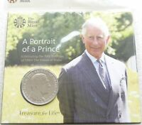 2018 ROYAL MINT PRINCE CHARLES 5 FIVE POUND COIN PACK SEALED