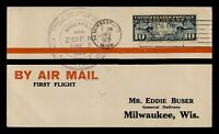 DR WHO 1928 MINNEAPOLIS MN FIRST FLIGHT AIR MAIL C203547