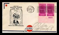 US COVER MOUNT UNION PENNSYLVANIA FIRST FLIGHT AIR MAIL EXPE