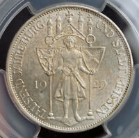 1929 GERMANY  WEIMAR . SILVER 3 MARK